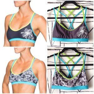 Athleta Plumeria Reversible Bikini Bra Top